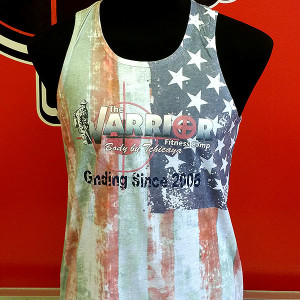 Warrior-Fitness-Dont-Waste-Freedom-Womens-tank-top-front-view